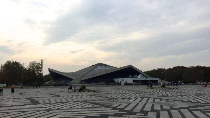 様々な建築構造が集う《駒沢オリンピック公園総合運動場》