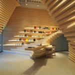 台湾では稀なヒノキの和空間「Whitestone Gallery」