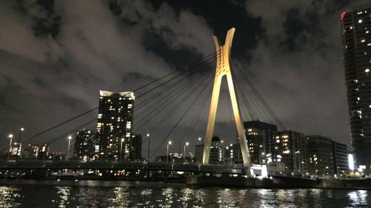 ランニングで橋を学ぶ《隅田川テラス②》
