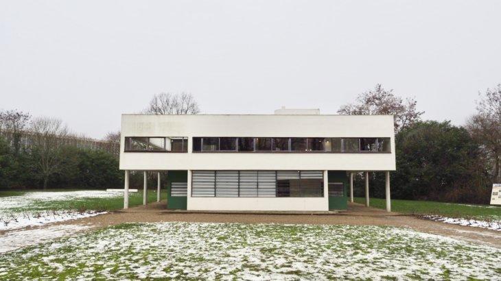 近代建築の五原則を肌で感じる「サヴォア邸(Villa Savoye)」②