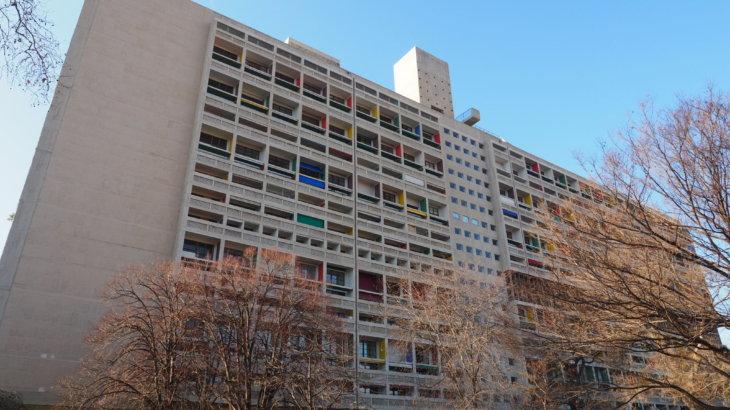 宿泊して体験するコルビュジェ建築「ユニテ・ダビタシオン(Unite d'Habitation)」①