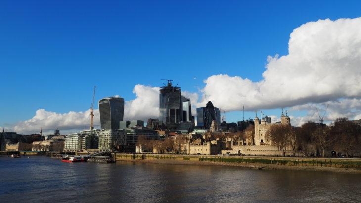 ロンドン金融街を散策する《イギリス旅》