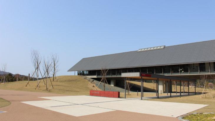 湖に向けた情緒的な軸線「福井県年縞博物館」