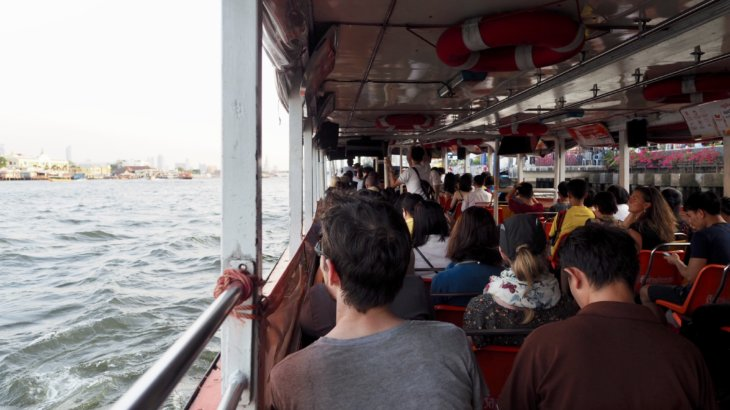 タイへの一人旅で体験した乗り物《3種》